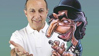Como hacer la caricatura de Joaquín Sabina