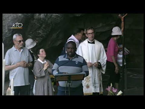 Chapelet à Lourdes du 18 juin 2019