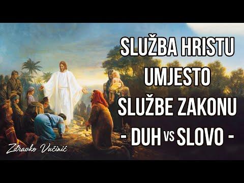 Zdravko Vučinić: Služba Hristu umjesto službe zakonu (Duh & Slovo)