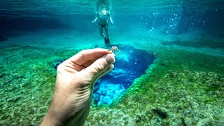 I Found 3 Wedding Rings Underwater in the River While Metal Detecting! $5,000+ (Rescue Mission)