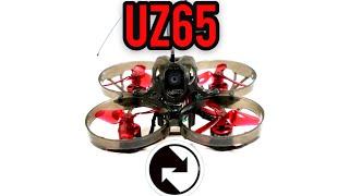 Eachine UZ65 - whoop 35mm props and Crossfire onboard! External VTX - perfect whoop for exploring
