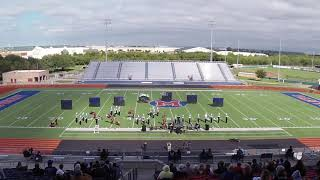 Rudder HS UIL Marching Competition 10/20/18