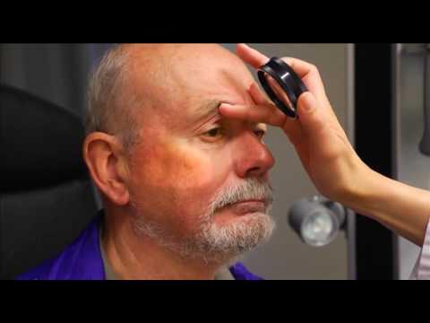 Die Laserprozeduren für die Person in ufe