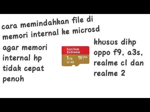 Cara memindahkan file dari internal ke microsd