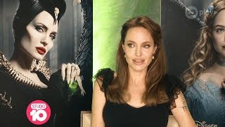 Exclusive: Angelina Jolie Talks 'Maleficent: Mistress Of Evil' | Studio 10