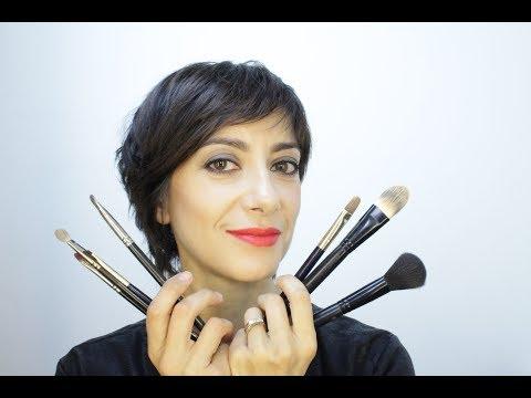 Come usare i pennelli da trucco per il make up di viso, occhi e labbra