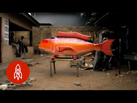 Going out in style: Do you know about Ghana's fantasy coffins?