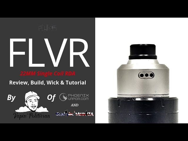 The FLVR RDA - 🤔🤔Yes, it's pronounced Flavor, but did they get the name right?🤔🤔 - FLAVVA FLAVV!
