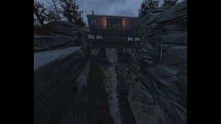 Onyx Nightshade Meets Fallout 76 - Raider Gate CAMP Build