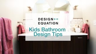 How To : Get Judy And Benjis Kids Bathroom Design Tips