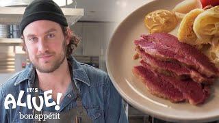 Brad Makes Perfect Corned Beef | It's Alive | Bon Appetit