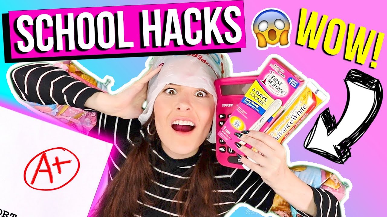 15 SAVAGE BACK 2 SCHOOL WEIRD HACKS 2017 U NEED NOW !! RELATABLE! + TUITION GIVEAWAY !! thumbnail