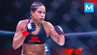 Amanda Nunes Training for Ronda Rousey (UFC 207) | Muscle Madness