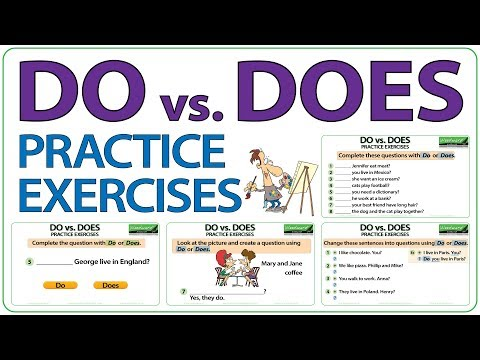 mp4 Exercise Do And Does, download Exercise Do And Does video klip Exercise Do And Does