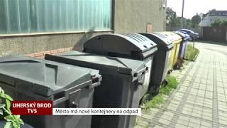 Město má nové kontejnery na odpad (TVS)