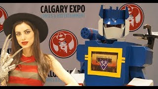 Our day at Calgary Expo!