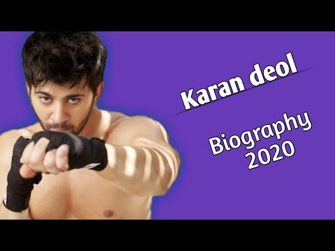 Karan Deol Biography | Age, Height, Weight, Education & More...
