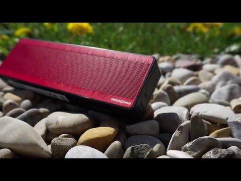 Produktvorstellung: Bluetooth-Lautsprecher SWISSTONE BX200 (Pollin Artnr. 641033)