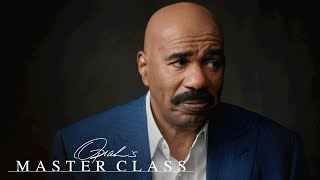 Steve Harvey Gifted TVs to the Teachers Who Said He'd Never Be on TV | Oprah's Master Class | OWN - dooclip.me