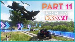 Forza Horizon 4 Walkthrough Part 11 - The Halo Showcase | Xbox One S Gameplay
