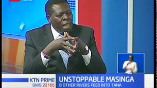 CS Eugene Wamalwa speaks to us about Masinga dam,assures action before any disaster