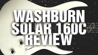 Washburn Parallaxe Solar 160c - Ola Englund