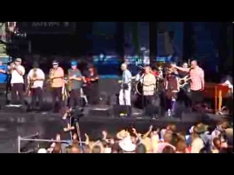 Soul Vaccination performs at Safeway Waterfront Blues Festival