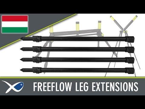 Matrix FREEFLOW ROLLER LEG EXTENSIONS X4 - görgő toldó (4db) videó