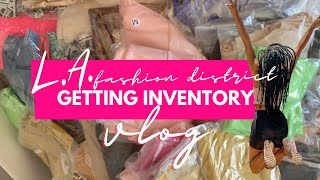 BOUTIQUE ENTREPRENEUR VLOG 2020 | LA Fashion District, Wholesale Clothing Vendors |Simply Michele