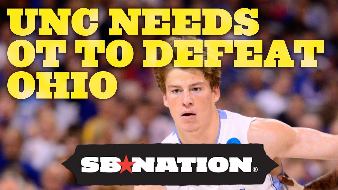 UNC Needs Overtime to Defeat Ohio: NCAA Recap thumbnail