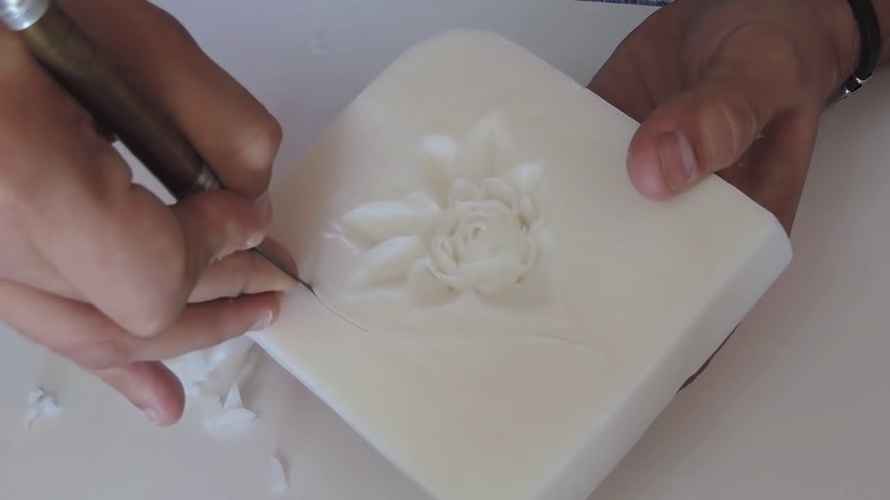 soap art tutorial
