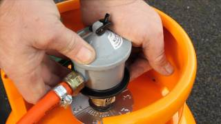Calor Tips - How to fit a Butane Gas Regulator