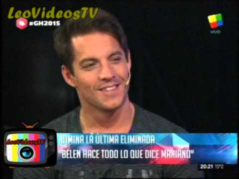 Comienzo debate con Romina tras ser expulsada GH 2015 #GH2015 #GranHermano