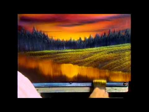 The Joy of Painting S13E4 Evening at Sunset