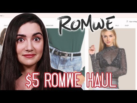 I Wore 5 Clothes From Romwe For A Week