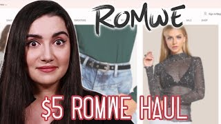 I Wore $5 Clothes From Romwe For A Week | Kholo.pk
