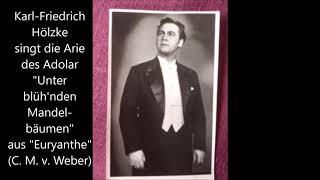 Karl-Friedrich Hölzke singt die Romanze des Adolar