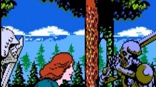 Kick Master (NES) Playthrough - NintendoComplete