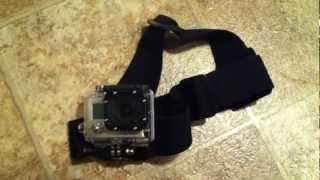 GoPro Head Strap Mount review & How To