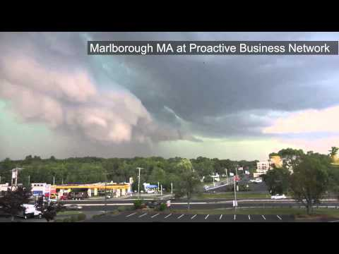 8-4-2015 Storm Forms In Marlborough MA