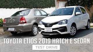 Toyota Etios 2019 / Hatch e Sedan - Test Drive