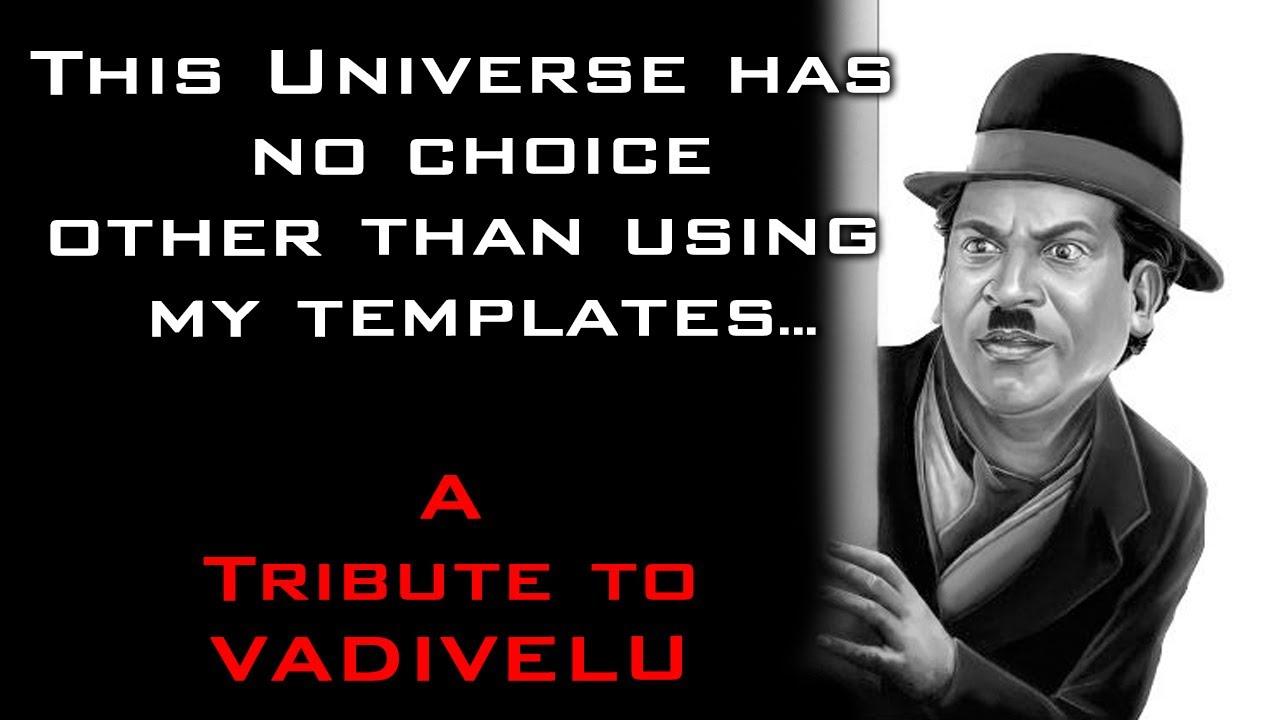 வைகை புயல் வடிவேலு 58 | Happy Birthday Living Legend Vadivelu