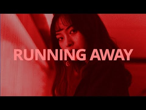 D.E.L - Running Away // Lyrics