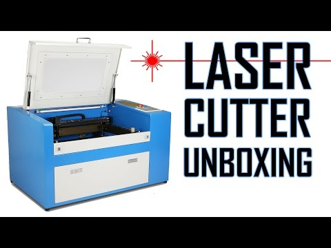 50W Laser Cutter/Engraver Unboxing and Quick Review