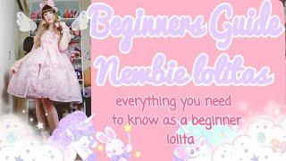 🌈💕A BEGINNERS GUIDE TO LOLITA FASHION!! 💕🌈 #lolitafashion #floorgang
