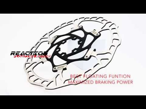 Reaction Floating Rotor 180mm best for MTB and Downhill - ZENO Bicycle Component