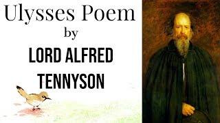 tennyson poem ulysses