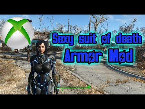 Fallout 4 - Sexy Suit Of Death Armor Mod Hidden in WIP (DOWN
