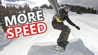 #41 Snowboard intermediate – How to snowboard faster