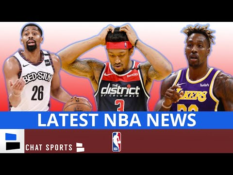 NBA News: Bradley Beal & Spencer Dinwiddie Are OUT, Dwight Howard is IN & The Newest Houston Rocket